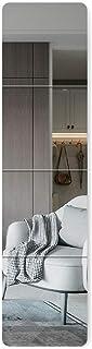 arttranson 全身ミラー 貼り付け鏡 姿見 フィレ フロートガラス 飛散防止 DIY式 枠無し (30x30cm4枚)