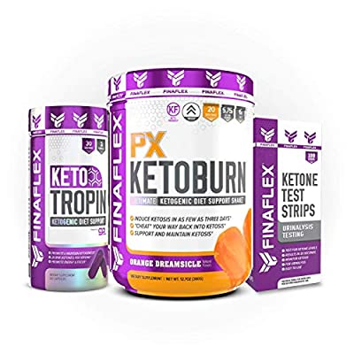 Keto Starter Kit, 7 Day System, Get Into Ketosis and Start Burning Fat in 3 Days, Strips, BHB, Everything You Need to Lose Weight