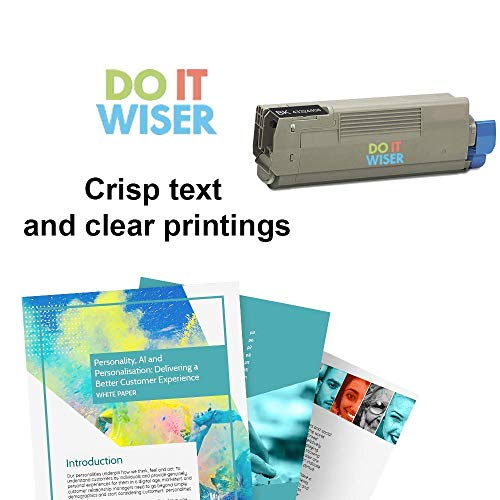 Do it Wiser Compatible High Yield Toner Cartridge Replacement for Oki C5500 C5500N C5500DN C5800 C5800N C5800DLN C5900 C5900N Black Photo #4