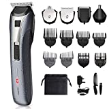 Hair Clippers Men - Beard Trimmer Grooming Kit, All in 1 Multifunctional Rechargeable