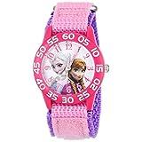 ディズニー Disney Kids' W001790 Frozen Analog Display Analog Quartz Pink Watch 女の子 ガールズ 腕時計 【並行輸入品】