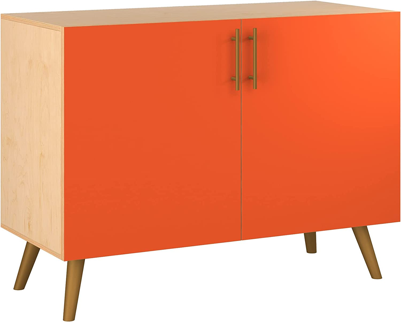 Poppy Credenza - Natural Sadie Design in 11 Ranking TOP2 5 Philadelphia Mall Colors Styl Base