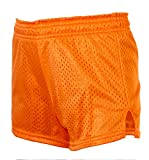 EMC Sports Mini-Mesh Shorts, Neon Orange, Small