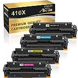 Arcon Kompatibel Toner Cartridge Replacement für HP CF410X CF410A 410X 410A HP M477FDW HP Color Laserjet Pro MFP M477FDW M377DW M477FDN M477FNW M452DN M452NW M452DW M477 M452 M377 CF411X CF412X CF413X