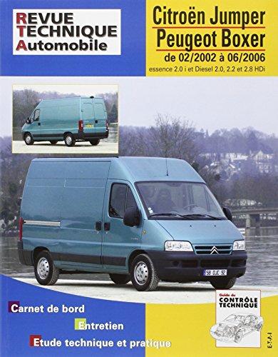 E.T.A.I - Revue Technique Automobile 417 - CITROEN /PEUGEOT JUMPER/BOXER II - 2002 à 2006