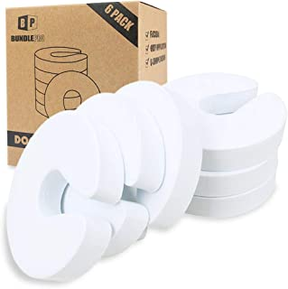 Pack of 6 Door Pinch Guards, Baby Proof Soft EVA Foam Stoppers Fits Any Doors Size