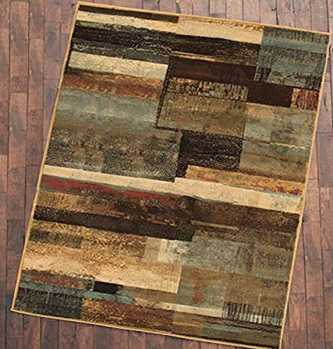 Mayberry Rugs HS Lodge Panel Area Rug, 5'3 x 7'3