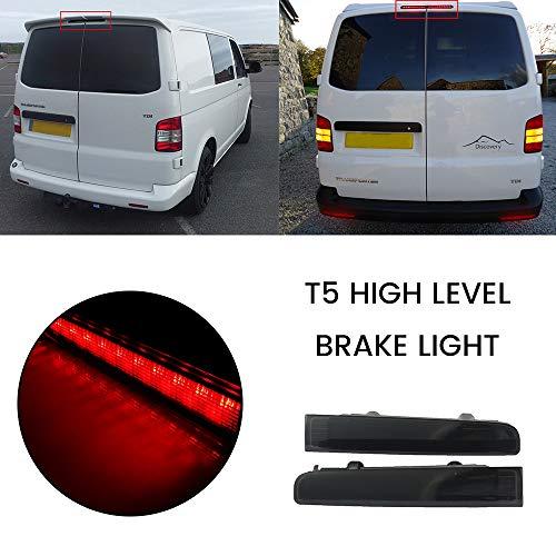 2 Stück Bremsleuchte Bremslicht 12V T5 Heckklappe LED Rotlicht Universal High Level Zusatzbremsleuchte
