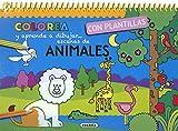 Animales (Colorea y aprende a dibujar con plantillas)