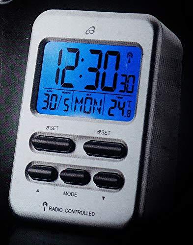 Auriol Funk LED Tischuhr Funkwecker Wecker Temperaturanzeige LCD Digital