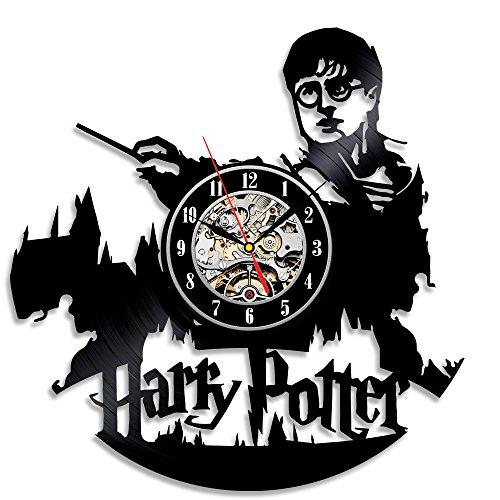 Mejor regalo de Navidad para los Fans de Harry Potter vinilo reloj de