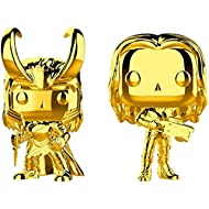 Funko POP! Marvel Gold Chrome Bundle - Loki and Gamora