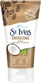 St. Ives Coconut & Coffee Energising Face Scrub, 170 gm