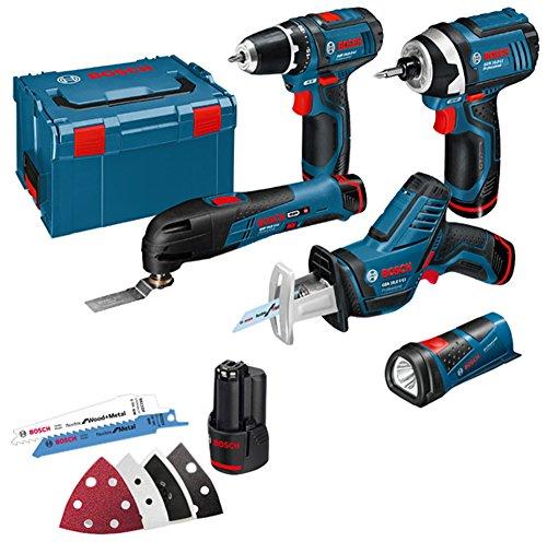 BOSCH KIT 12V  5 herramientas