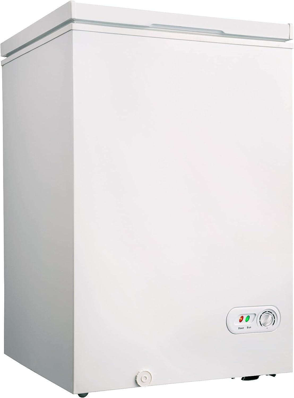 3.5 excellence cu.ft Chest wholesale Freezer Removable Top Storage Open Door Basket