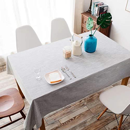 JXXDQ Banquet de mariage de dîner de linge de maison de tissu de chemin de table de nappe rectangulaire (Size : 100 * 140cm)