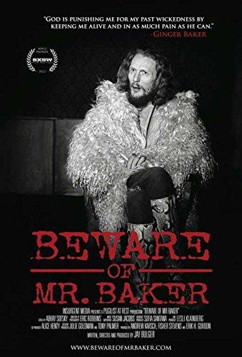 Beware of Mr. Baker Movie Poster (27,94 x 43,18 cm)