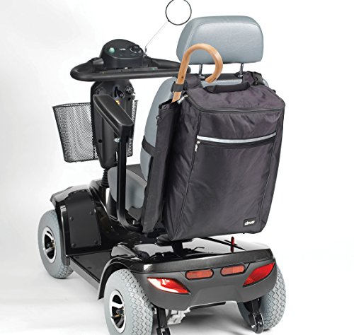Drive Medical Tasche für Krücken und Gehstock, Schwarz
