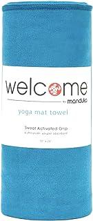 Manduka Welcome Yoga Mat Towel, Maldive Blue