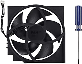 Internal Cooling Fan Replacement for Xbox ONE S OEM, 5 Blades 4 Pin Turbo Cooling Fans Repair Part Kit