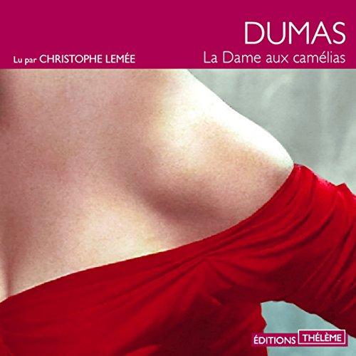 La dame aux camélias audiobook cover art