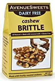 AvenueSweets - Handcrafted Old Fashioned Dairy Free Vegan Nut Brittle - 7 oz Box - Cashew