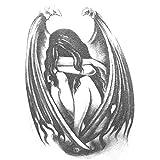 tzxdbh Pegatinas de Tatuaje Impermeables Alas de...