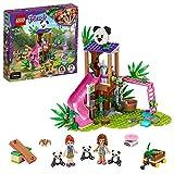 LEGO 41422 Friends Casa del Árbol Panda en la Selva Juguete de Construcción para Niños de +7 años con Mini Muñecas y Animales