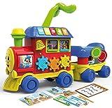 fermata treno santa marinella Kit giochi educativi Lisciani Giochi- Carotina Baby Trenino 4 in 1, Multicolore, 76635