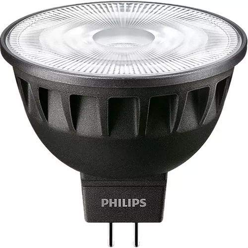 Philips Master LED expertcolor 6.5W GU5.3A Warm White LED Bulb–LED Bulbs (Warm White, Black, A, 12V, 800mA, 8kWh)