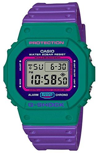 [カシオ] 腕時計 ジーショック THROW BACK 1983 DW-5600TB-6JF メンズ パープル