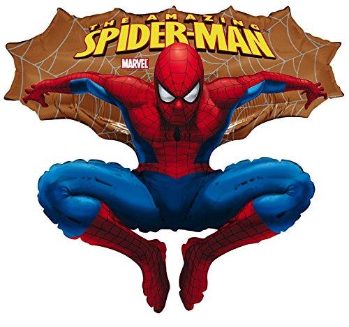Marvel Spiderman folieballon folie ballon goud 76 cm *NIEUW*ORIGINELE VERPAKKING *