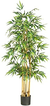 Nearly Natural 5253 Bamboo Silk Tree 64-Inch Green