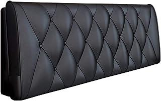 YYQ SHOP Cabecero de Cama tapizado Acolchado, cojín Grueso de la Almohadilla de la Cintura, Soporte del Respaldo de la cabecera, sofá Cama de Cuero Artificial, Cama Doble Lavable para el hogar