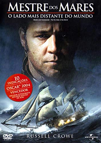 DVD - Mestre dos Mares: O Lado Mais Distante do Mundo