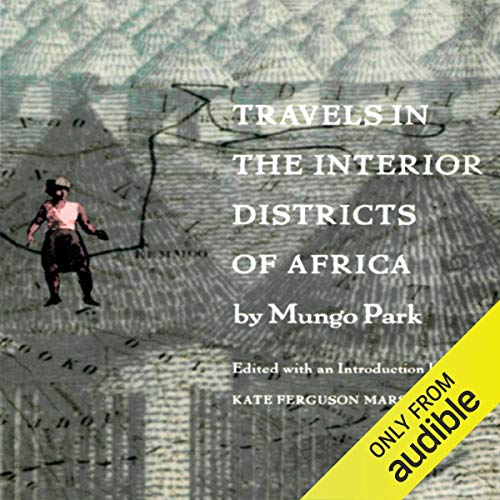 『Travels in the Interior Districts of Africa』のカバーアート