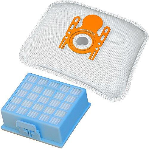 1 Hepa-Filter + 20 Staubbeutel geeignet für Siemens Baureihen VS06… VSZ3… VSZ4… und Bosch Serien BSG6…, BSGL3…, BSGL4…, Staubsaugerbeutel BS 216m inkl. Filter