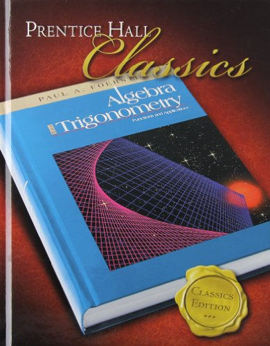 Best algebra and trigonometry textbook