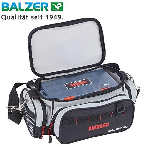 Balzer Shirasu Organizer klein 35x19x15cm - Angeltasche mit 2 Boxen