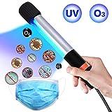 UVライト 紫外線殺菌灯 除菌UVオゾンライト 小型便利 手持ち式 オゾン殺菌ランプ 99%細菌消滅 脱臭 空気清浄 消臭機能付き 細菌/ウイルス/ダニを殺す (オゾンUVライト)