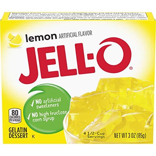 Jell-O Lemon Gelatin Dessert (85g)