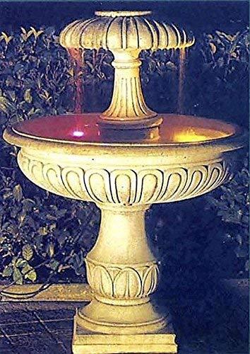 pompidu-living Brunnen, Gartenbrunnen, Zierbrunnen, Fountain, Sevilla Farbe Sandstein