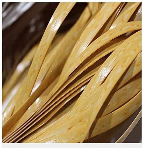 WWQQ 70M *8mm PE Rattan Plastica Vimini per Sedia Reclinabile Tavolino da caffè Patio Riparazione Vaso Fiore Fai da Te Realizzato A Mano Rattan Intrecciata A Mano bambù Rattan (Color : B)