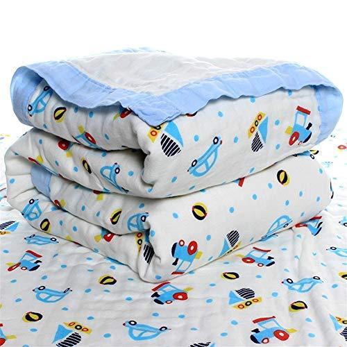 Nouveauté mode Serviette de bain bébé Gaze 120 * 150cm coton Six couches Lavé Bubble Coton infantile Cool Summer Big Boy est pour salle de bain (Color : E, Size : 110 * 110cm+plusmn;5)