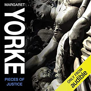 Pieces of Justice                   By:                                                                                                                                 Margaret Yorke                               Narrated by:                                                                                                                                 Maureen O'Brien                      Length: 9 hrs and 16 mins     5 ratings     Overall 4.8