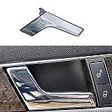 TXYFYP 2047201171 Tirador de puerta interior cromado plateado derecho e izquierdo para Mercedes W204, para W204 Clase C 2008-2014