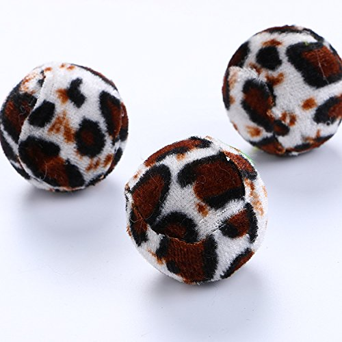 7cm Cat Toy Funny cat Ball, cat Vocal Toy, Kitten molars Teeth to Relieve Boredom, Mouse in Feather cage