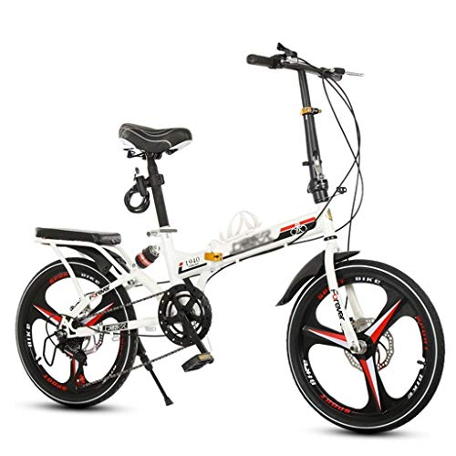 Vouwfietsen Vouwen Fiets Volwassen Mannen En Vrouwen Vouwen Mountainbike Ultra Light Shock Absorbing Fiets Mini Scooter