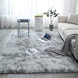 Fuzzy Abstract Area Rugs for Bed...
