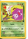 Wizards of the Coast Pokemon Team Rocket 1st Edition Common Card #58/82 Koffing